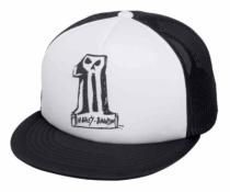 CAP-TRUCKER,#1 FOAM,BLK,B/L