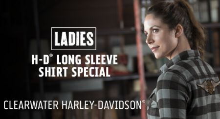 Winter Special on Ladies Long Sleeve Shirts