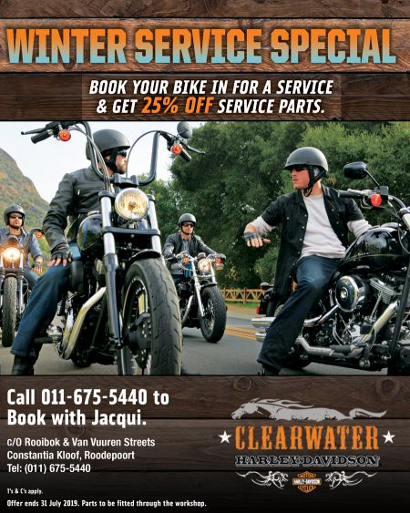 Winter Service Special - Clearwater Harley-Davidson