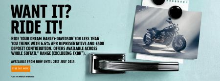 6.6% APR Offer on Softails