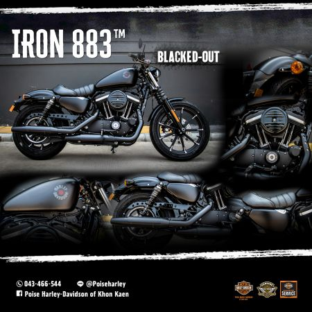 Harley-Davidson® Dark Custom™ IRON 883™