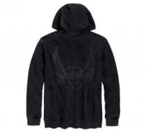 Majica s kapuljačom/ winged skull