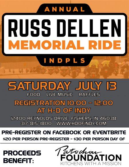 Russ Dellen Memorial Ride