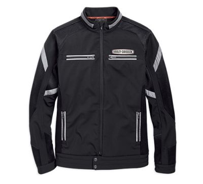 Harley-Davidson® Men's Performance Soft Shell & Mesh Jacket
