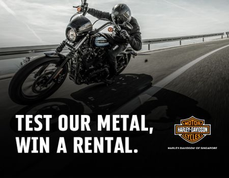 Test our Metal, Win a Rental