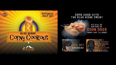 Blue Ridge Corny Cookout!