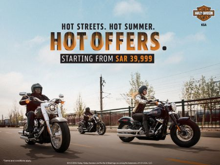 SUMMER EXCLUSIVE OFFERS ON MOTORCYCLE.