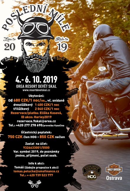 Poslední Míle 2019 HOG Ostrava