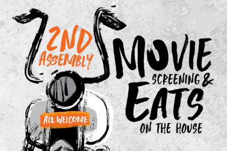 2nd Assembly: Movie Night
