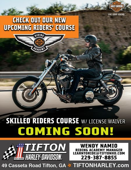 Skilled Riders Course COMING SOON!