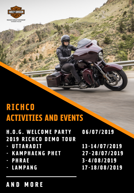 Richco Activities and Events