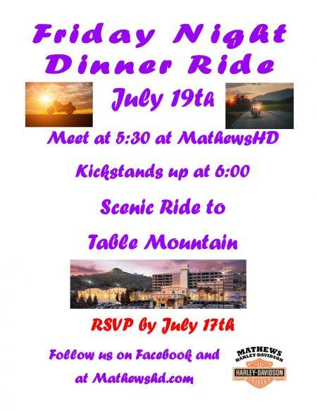 Dinner Ride