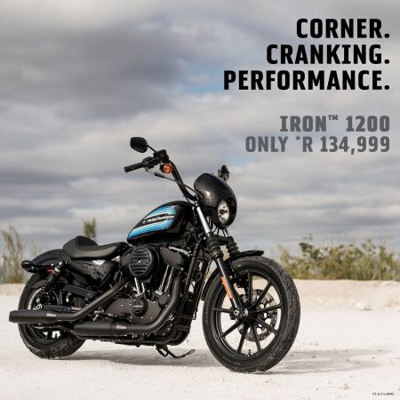 Sportster IRON 1200 PROMOTION