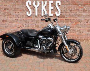 2017 Harley Davidson Freewheeler Trike in Vivid Black