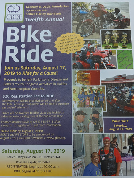 GBDF Twelfth Annual Bike Ride