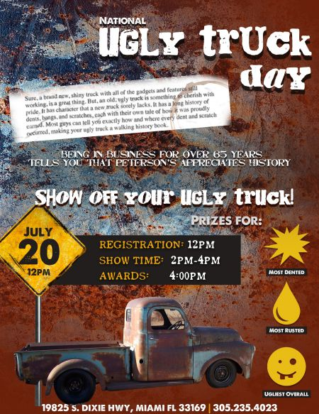 Ugliest Truck Day!