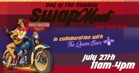 National Day of the Cowboy Swap Meet/Yard Sale!