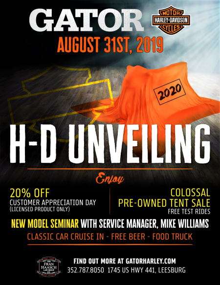 2020 H-D® Unveiling
