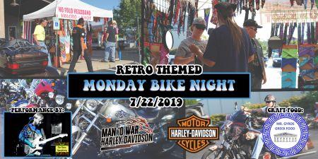 Monday Retro Bike Night