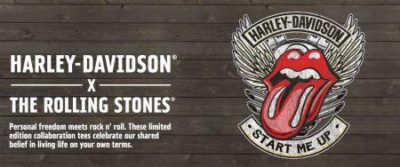 Cool & Sexy – megérkezett a Harley-Davidson The Rolling Stones kollekció