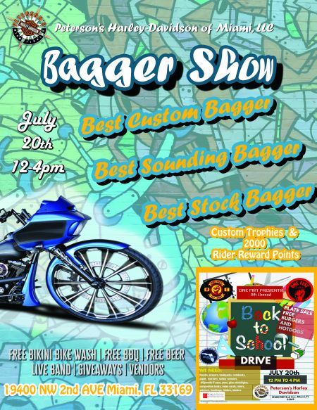 Bagger Competition & Back to School Drive!