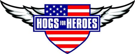 Hogs for Heroes Gifting Ceremony