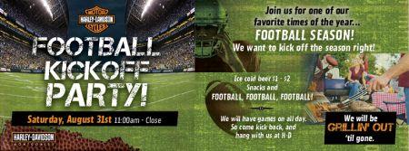 Football Kick-Off Party