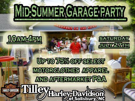 Mid-Summer Garage Party