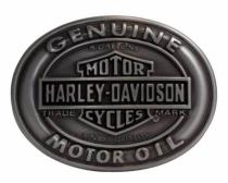 Harley-Davidson® Men's Genuine Motor Oil Belt Buckle