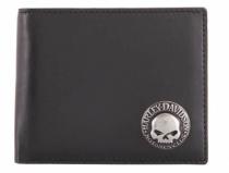 Harley-Davidson® Men's Skull Concho Bi-Fold Wallet
