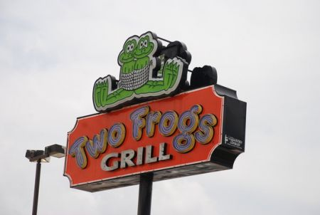 AEHOG Ride To Two Frogs Grill