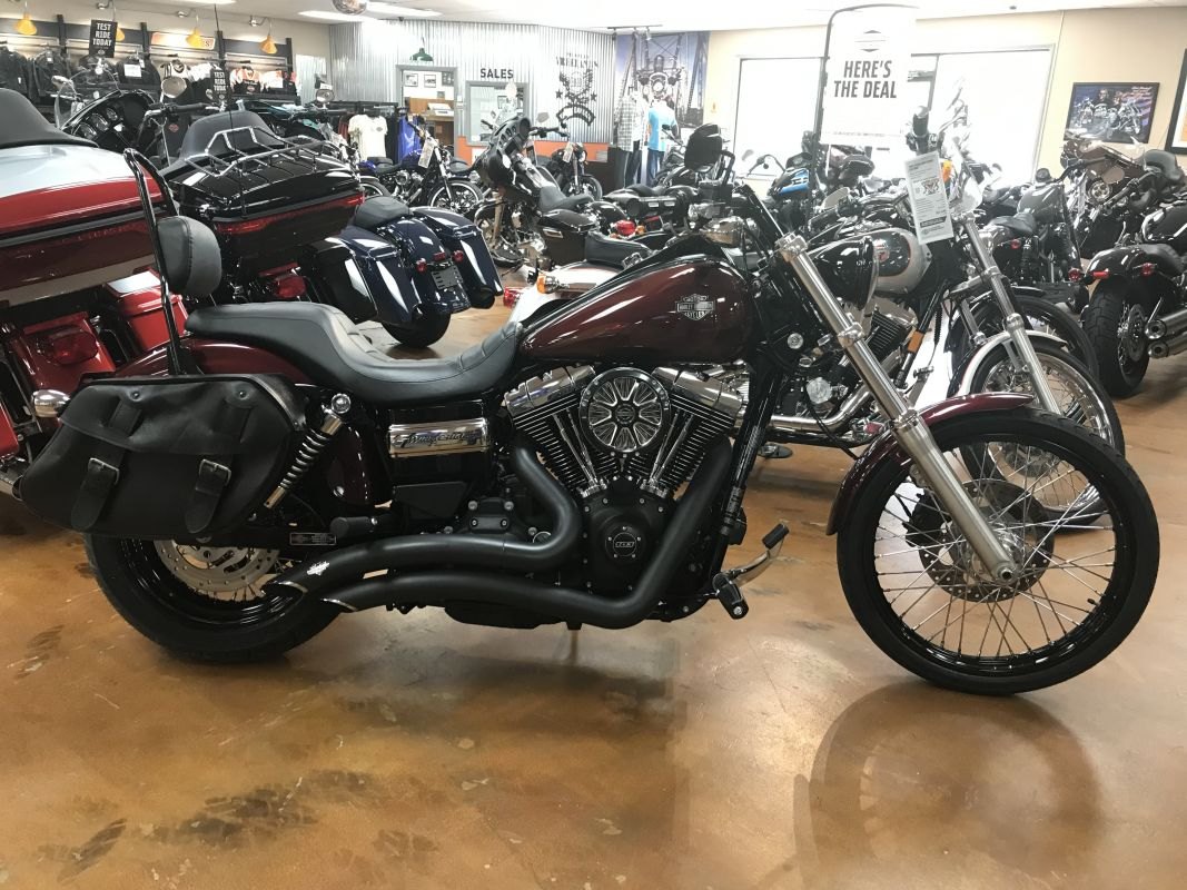 2015 FXDWG Wide Glide
