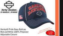 Harley® Pride Navy Ballcap