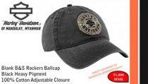 Blank B&S Rockers Ballcap