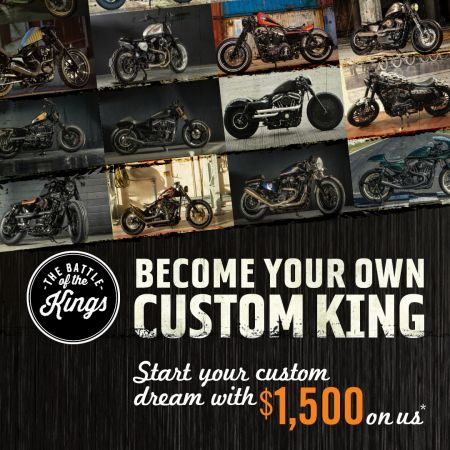 BECOME YOUR OWN CUSTOM KING