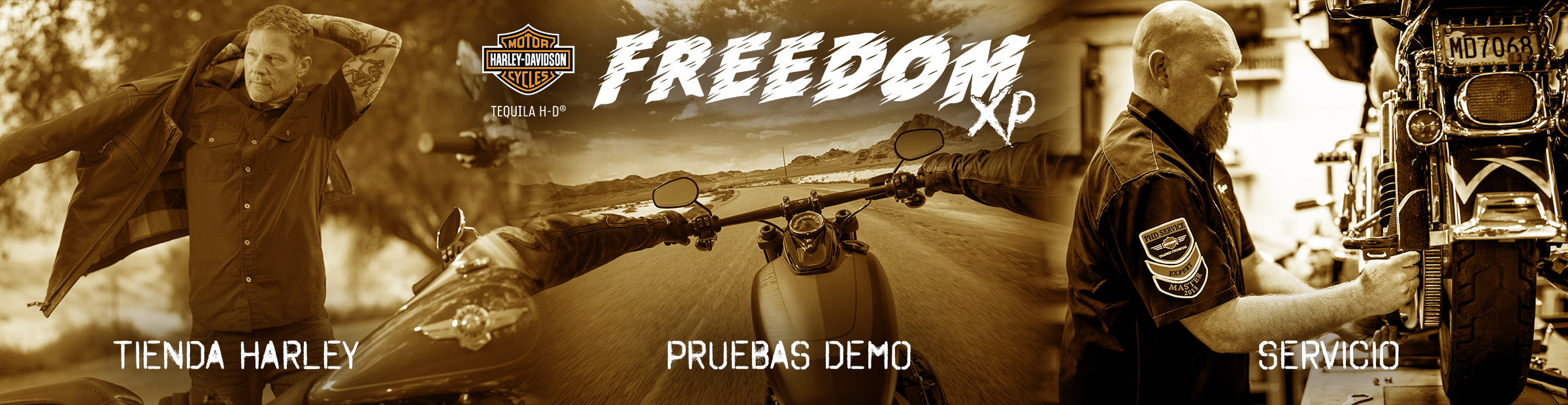 Tequila H-D Freedom XP