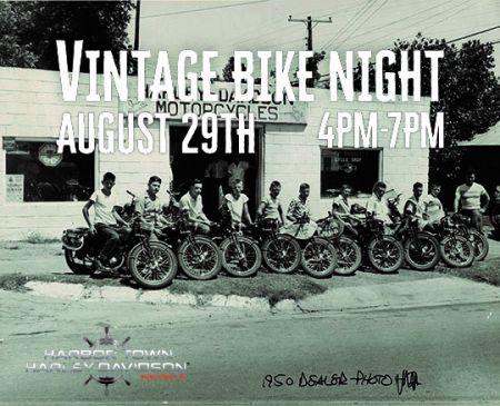 Bike Night (Vintage Night)