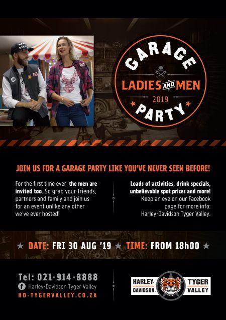 Garage Party 2019!