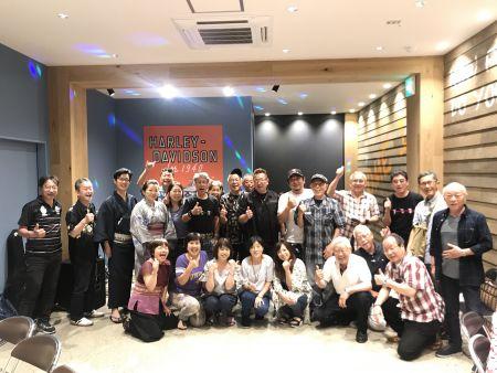 7月28日横浜チャプター納涼会、楽しく過ごしました!