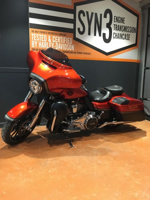 Harley davidson  Street Glide CVO stage 1
