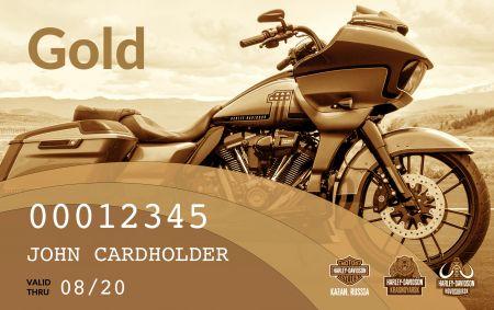 Бонусная программа Harley-Davidson