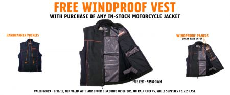 Free Vest with Jacket