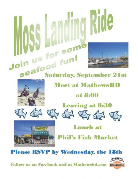 Moss Landing Ride