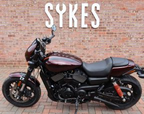 2019 Harley-Davidson XG750A Street Rod in Twisted Cherry
