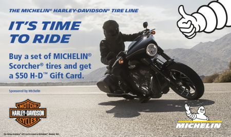 The Milchelin Harley-Davidson Tire Line