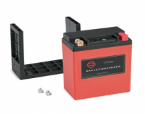 Lithium LiFe 4Ah Battery - Fits '07-'17 VRSC™ (except '07 VRSCR), '06-'17 Dyna®, and '04-later Softail® models. '07-'17 VRSC™ and '04-'07 Softail®