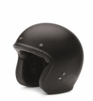 Harley-Davidson Genuine Retro 3/4 Black Helmet