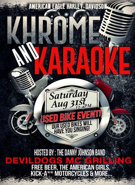 Used Bike Khrome & Karaoke Extravaganza!
