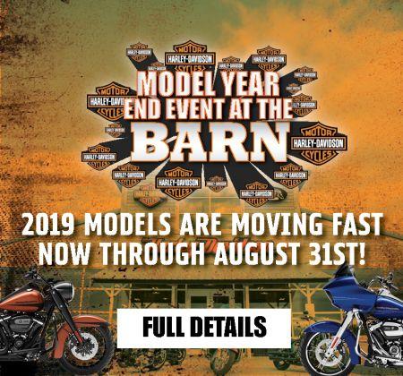 Model Year End Event at the Barn