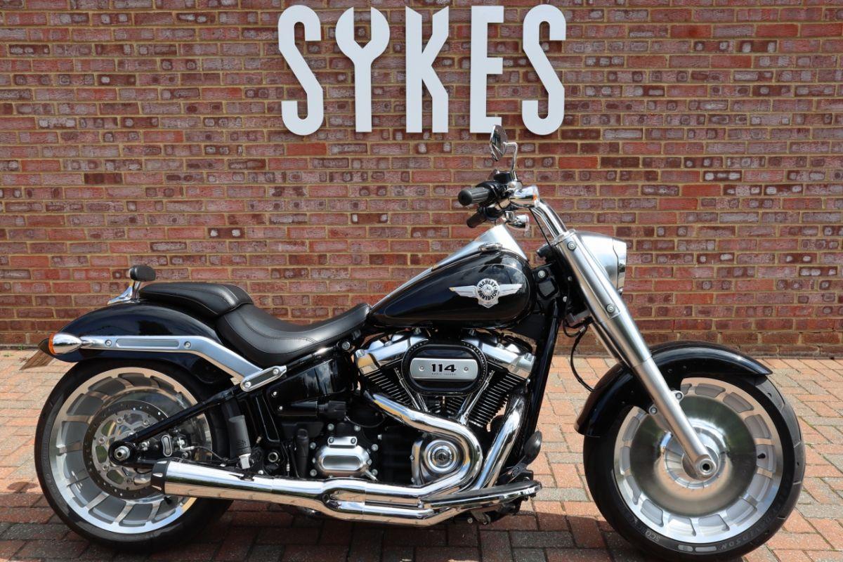 2018 Harley-Davidson Softail Fat Boy 114, Full Stage One, in Vivid Black